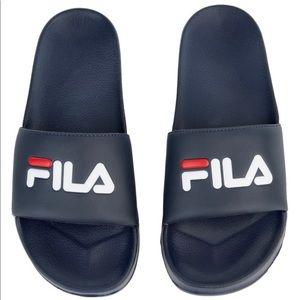Men's FILA Slides, Size 7